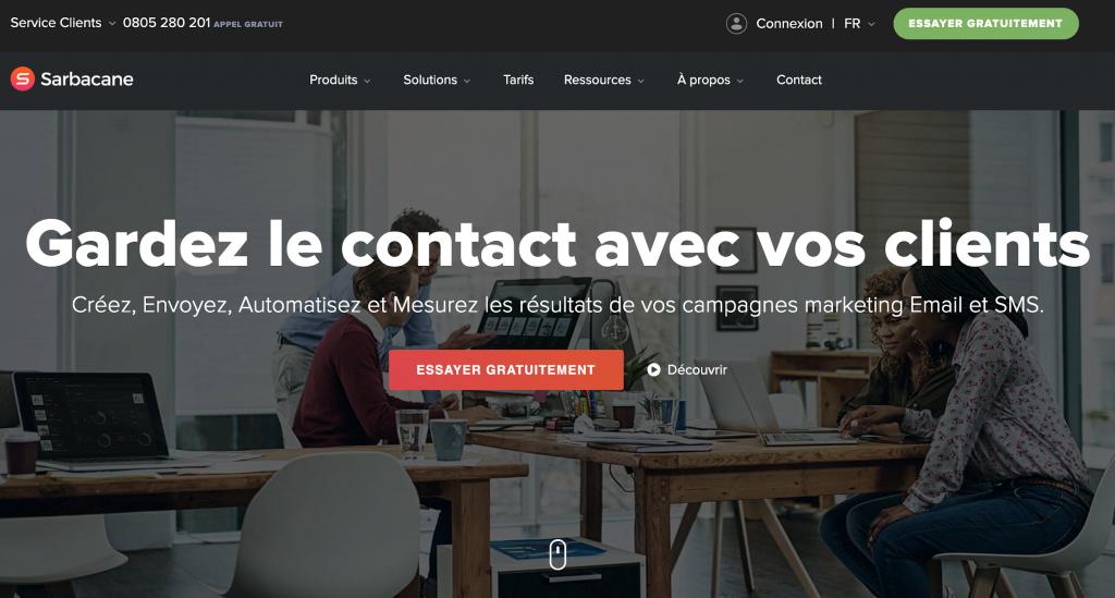 Sarbacane : garde un œil sur vos client avec les Newsletter