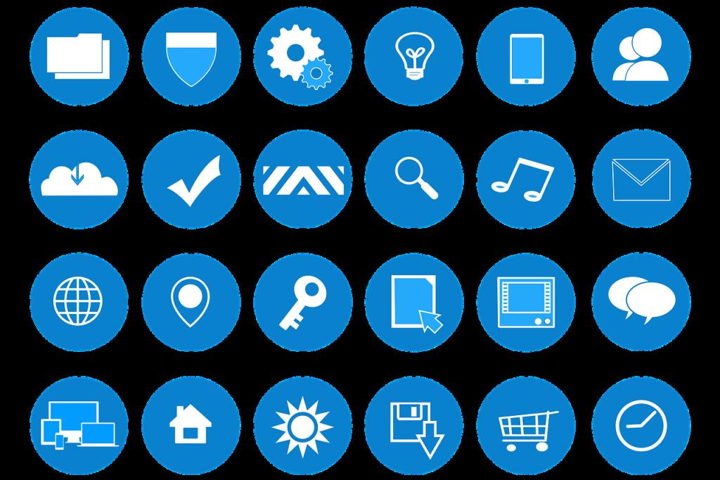 Icônes gratuits plateformes en ligne