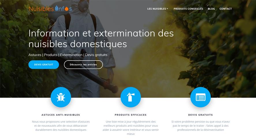 Création de site internet à Nice : site vitrine