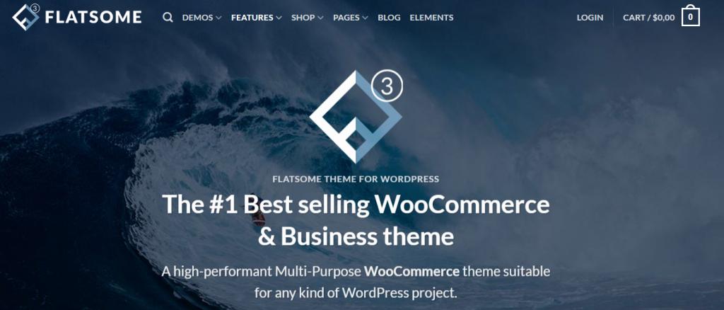 Flatsome un des meilleurs themes wordpress pour le e-commerce