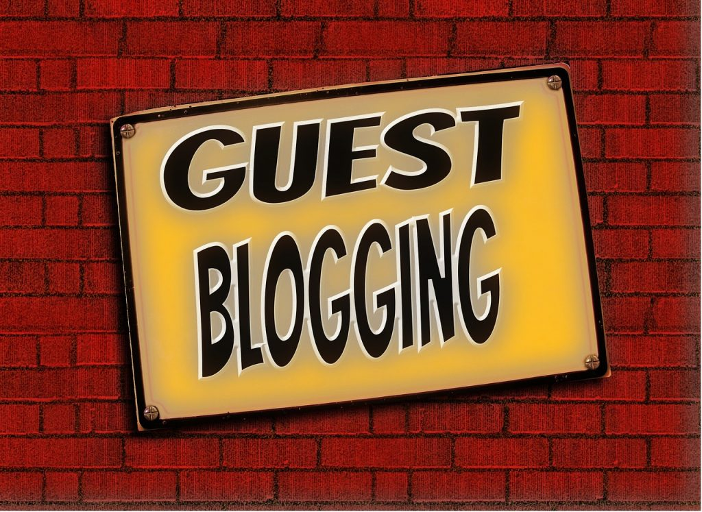 Le guest blogging est une methode reconnue pour obtenir des liens vers son site
