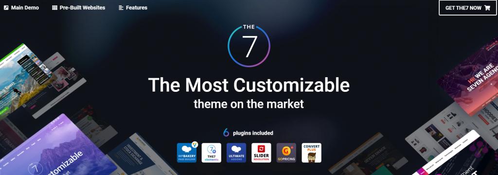 The7 un des meilleurs thèmes WordPress