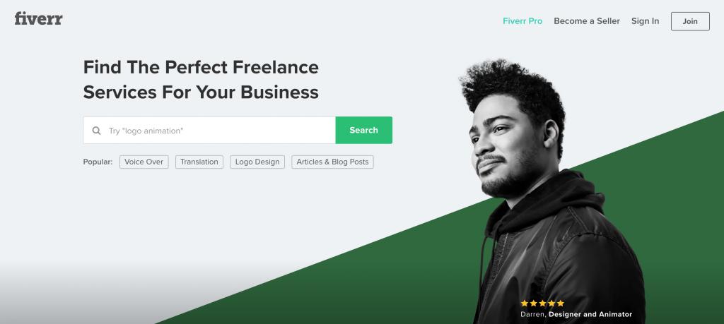 Fiverr une plateforme pour faire sous-traiter son travail